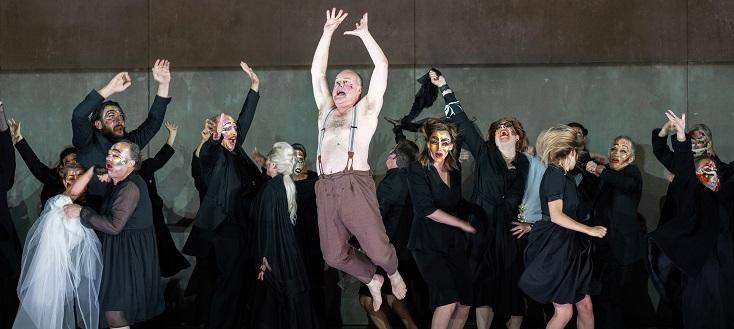"""Au festival d'Aix-en-Provence, Barrie Kosky met en scène """"Falstaff"""" de Verdi"""