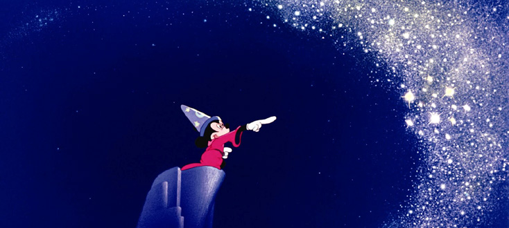 Fantasia (extraits), ciné-concert Disney
