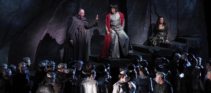"à Barcelone (Liceu), Derek Gimpel met en scène ""La favorite"" de Donizetti"