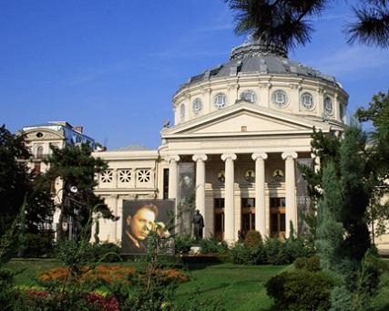 L'Ateneul Român, salle des concerts philharmoniques de Bucarest