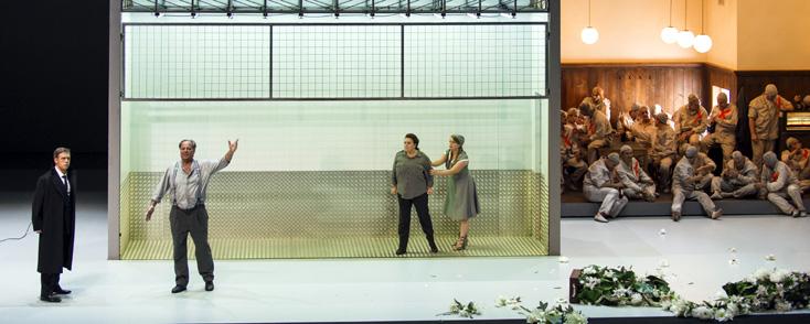 Nouvelle production de Fidelio (Beethoven) au Grand Théâtre de Genève (2015)