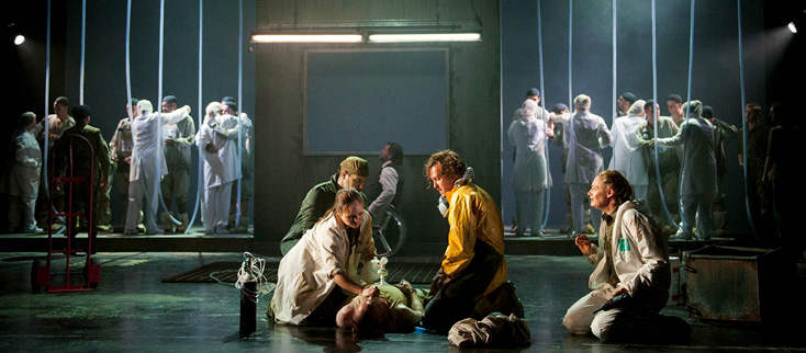 Fidelio, intéressante production d'Orpha Phelan au Longborough Festival Opera