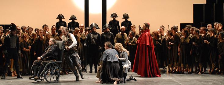 Chris Kraus signe ce nouveau Fidelio que dirige Claudio Abbado à Baden Baden