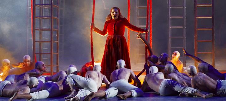 reprise à St-Étienne du Vaisseau fantôme (Wagner) de Bordeaux, signé Zambello