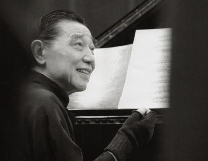 le pianiste chinois Fou Ts'ong en récital à la Maison de la Radio (Paris)