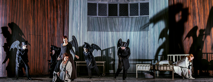 Die Frau ohne Schatten (Strauss) au Royal Opera House (Londres)