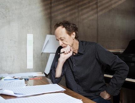 le compositeur suisse Beat Furrer, à l'honneur Unter den Linden (Berlin, 2019)