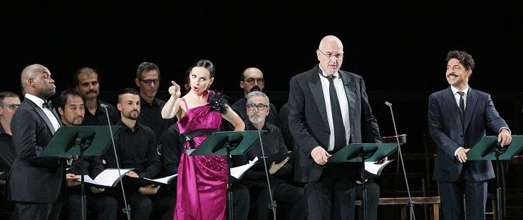 soirée de gala du quarantième anniversaire du Rossini Opera Festival