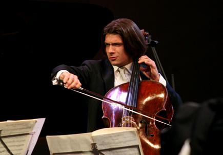 le violoncelliste Gautier Capuçon au Verbier Festival ans Academy 2008