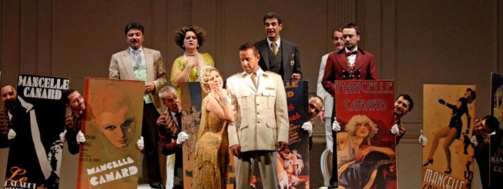 La Generala, opereta d'Amadeo Vives au Théâtre du Châtelet (Paris)