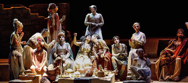 un Jules César façon Satyricon à l'Opéra de Toulon : belle réussite !