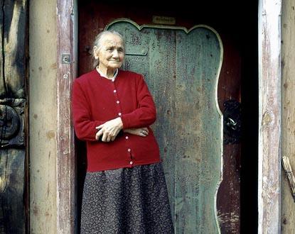 la compositrice norvégienne Gjendine Slålien (1871-1972)