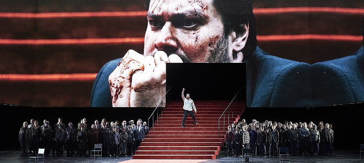 À l'Auditorium Bastille, Vladimir Jurowski joue Boris Godounov, version 1869