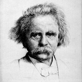 le compositeur norvégien Edvard Grieg