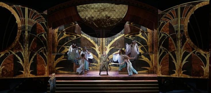 "Entrée de ""Die ägyptische Helena, opéra de Strauss"", au répertoire de La Scala"