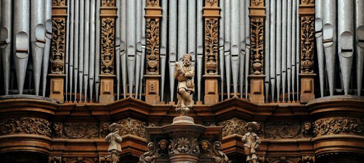 à la Collégiale Saint-Pierre d'Aire-sur-la-Lys, l'Utrecht Te Deum de Händel