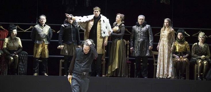 Passionnant Hamlet (Ambroise Thomas) d'Helen Malkowsky à Krefeld !
