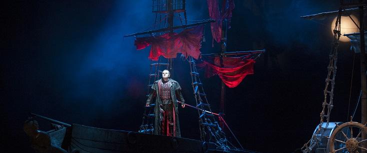"""4 juillet 2018, Düsseldorf, Oper am Rhein : """"Der fliegende Holländer"""" de Wagner"""