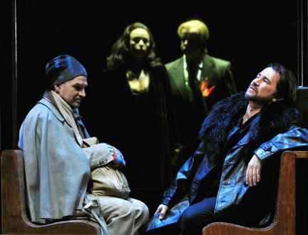 à Mannheim, nous découvrions L'Idiot, opéra de Mieczysław Weinberg