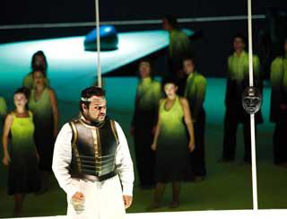 Ramón Vargas dans Idomeneo (Mozart) au Salzburger Festspiele