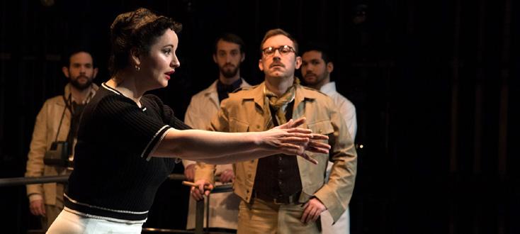 David Reiland joue Iliade l'amour (2016), opéra de chambre de Betsy Jolas