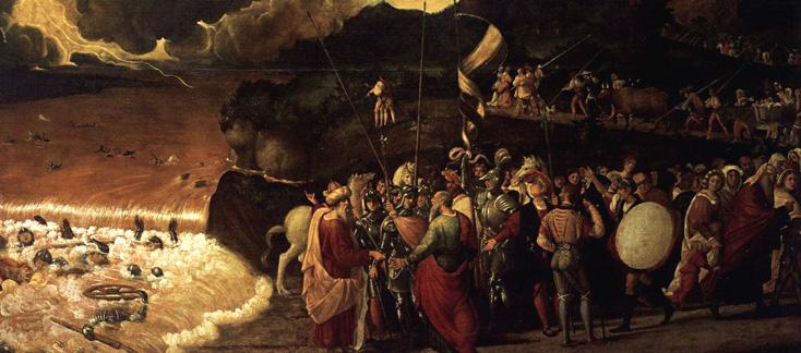 toile de Previtali à l'Accademia de Venise : Israel in Egypt, oratorio de Händel