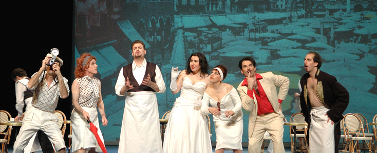 L'Italiana in Algeri (Rossini) à l'Opéra national de Montpellier