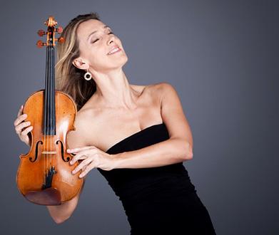 la violoniste australienne Jane Peters, somptueuse dans le Concerto de Korngold