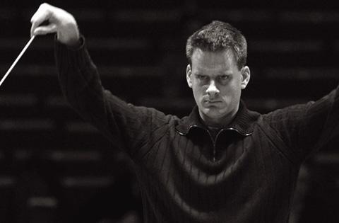 le chef d'orchestre suisse Philippe Jordan, patron musical de l'Opéra de Paris
