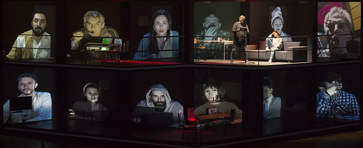 création suisse du Joueur de Prokofiev, par l'excellent Vassili Barkhatov (2018)
