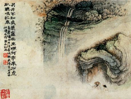 l'œuvre du calligraphe chinois Shí Tāo a inspiré un ballet à Kader Belarbi