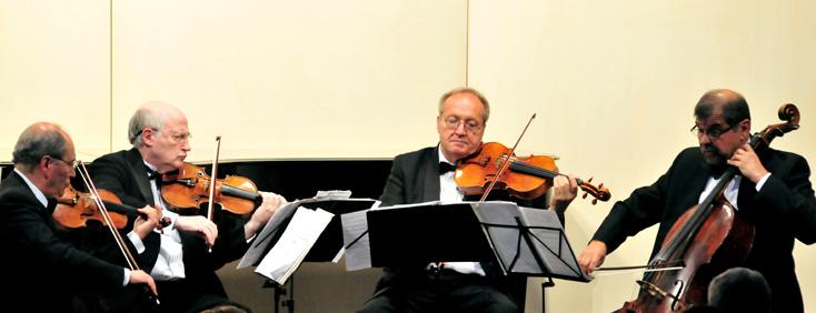 beau concert du Quatuor Kopelman au festival international de Colmar 2014