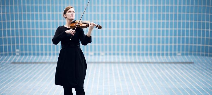la jeune et talentueuse violoniste islandaise Elfa Rún Kristinsdóttir