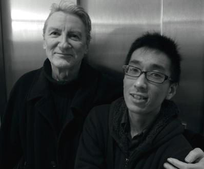 le compositeur Jacques Lenot et le pianiste Yusuke Ishii par Bertrand Bolognesi