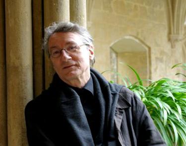 le comopositeur Jacques Lenot, auteur de nombreux pièces d'orgue