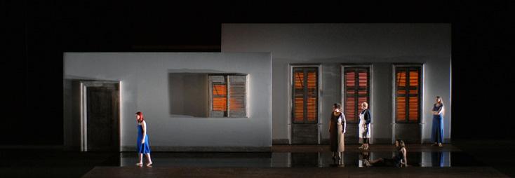 J'étais dans ma maison et j'attendais que le pluie vienne, opéra de Lenot