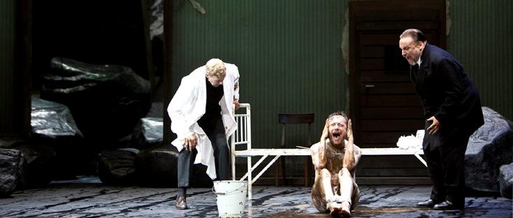 bouleversant Jakob Lenz de Wolfgang Rihm à Berlin (Schiller Theater) !
