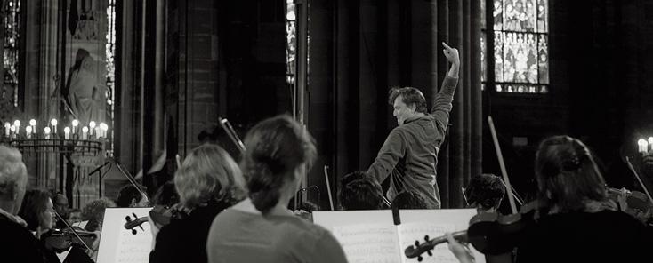 Marko Letonja répète la Deuxième de Mahler avec l'OPS, Cathédrale de Strasbourg