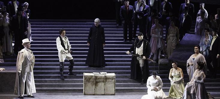 Toulon reprend la Lucia (Donizetti) d'Henning Brockhaus (1993)