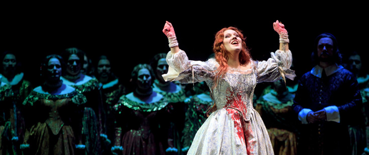 reprise réussie de la Lucia di Lammermoor de Nicolas Joel au Capitole !