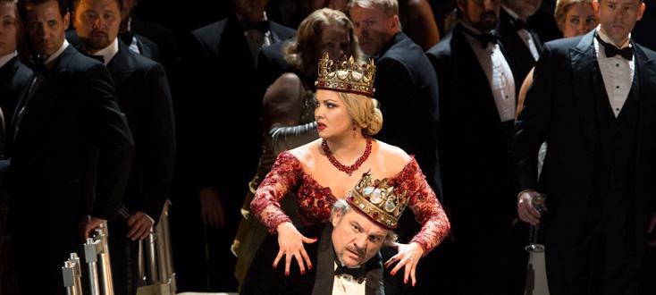 Željko Lučić et Anna Netrebko incarnent le couple Macbeth (Verdi)