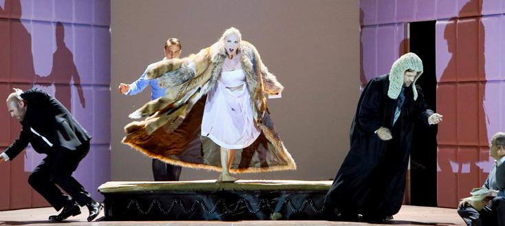 L'affaire Makropoulos de Janáček à l'Opernfestspiele 2015, Munich