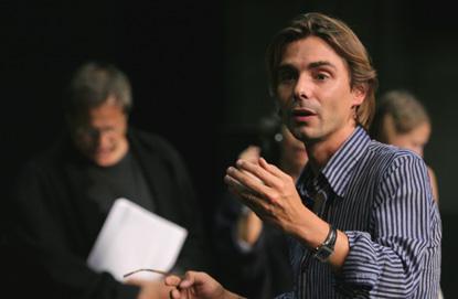 Emmanuel Demarcy-Motta répète L'Autre côté, opéra de Bruno Mantovani