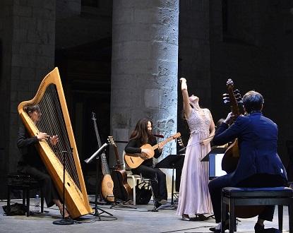 récital baroque du soprano argentin Mariana Florès au Festival d'Ambronay