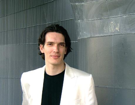 Mario Caroli, flûtiste, photographié par le musicologue Bertrand Bolognesi