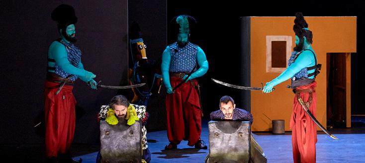 résurrection de Mârouf, l'opéra d'Henri Rabaud, à la salle Favart (Paris)