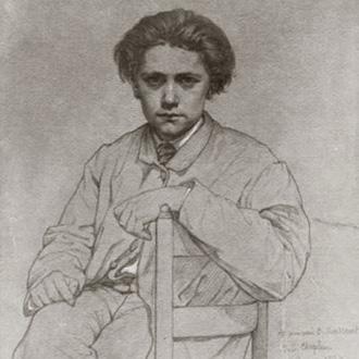 le compositeur français Jules Massenet dont on joue Thaïs au Châtelet (Paris)