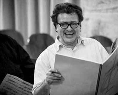 """le compositeur Martín Matalon, dont Accroche Note crée """"La carta"""" (2014)"""