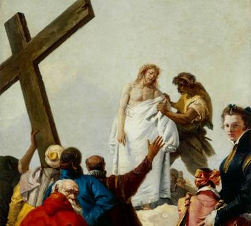 Gesù spoggliato (Via crucis) de Giovanni Tiepolo (1749)