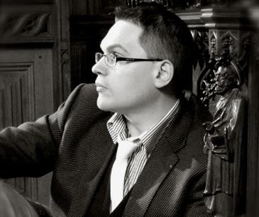 le jeune compositeur gallois Paul Mealor au Festivazl de la Chaise-Dieu